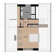 Dachgeschoß-Grundriss