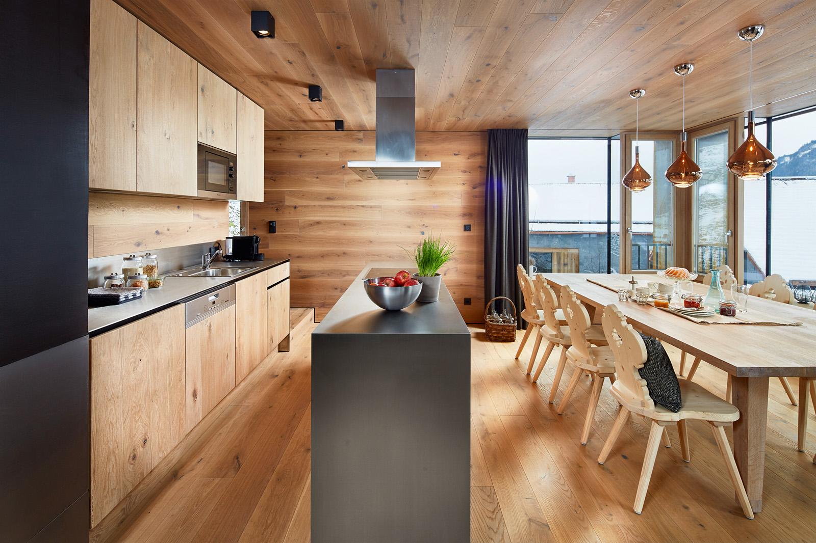 Impressionen im haus – Küche mit Essplatz | Auf da Leitn 8